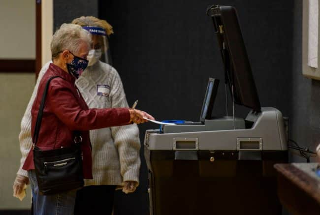N.C. Board of Elections denies request to examine voting machines 1