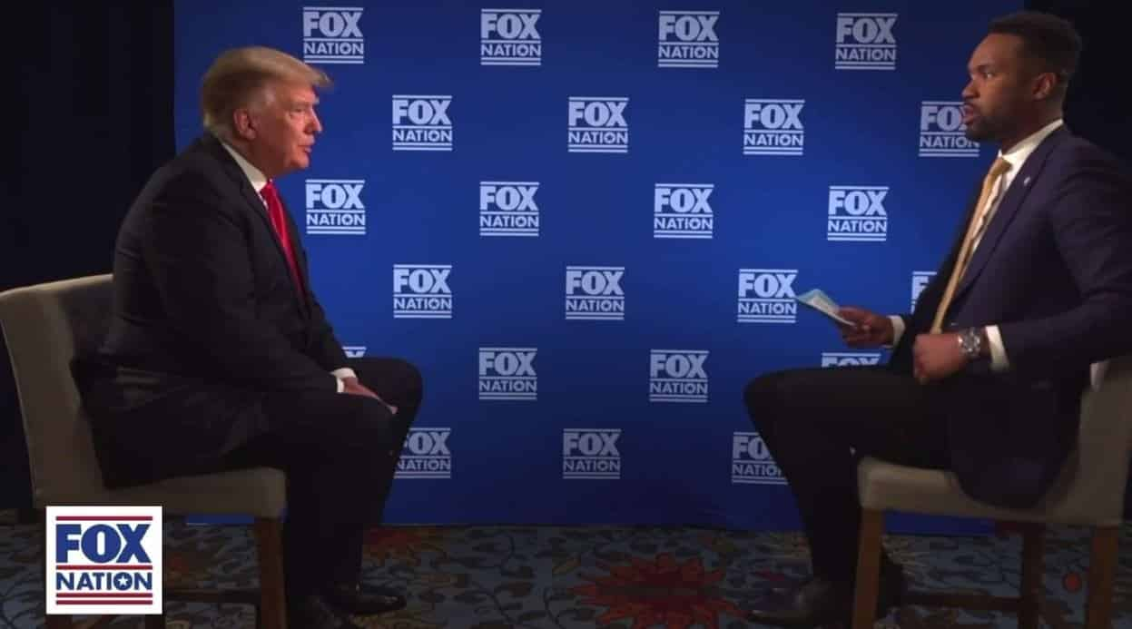 President Trump OWNS Fox News Stoolie Lawrence Jones on Rigged Election (VIDEO) 1