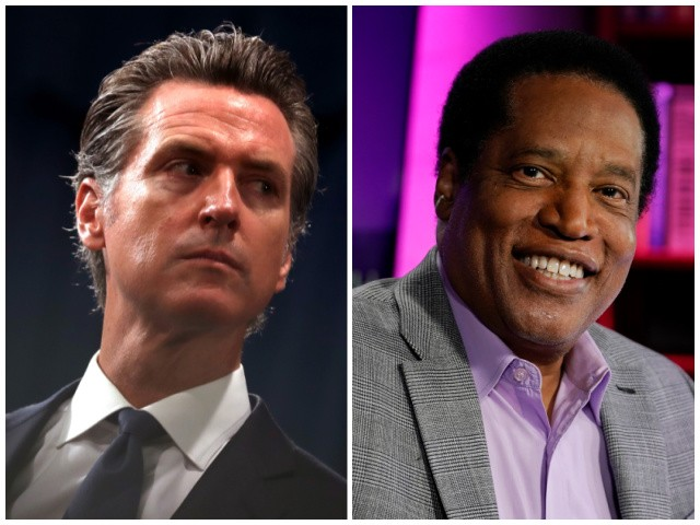 Gavin Newsom: A Vote for Larry Elder is a Vote Against 'Diversity' and 'Racial Justice' 1