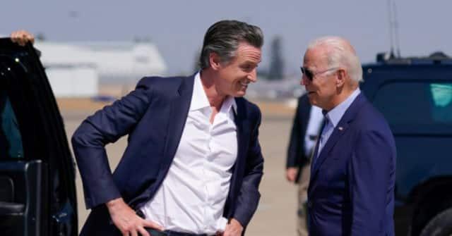 Mask-erade: Gavin Newsom and Joe Biden Flip-flop with Masks in California 1