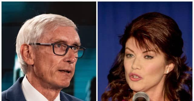 Poll: Democrat Gov. Tony Evers Tied with Republican Candidate Rebecca Kleefisch in Wisconsin Gov. Race 1
