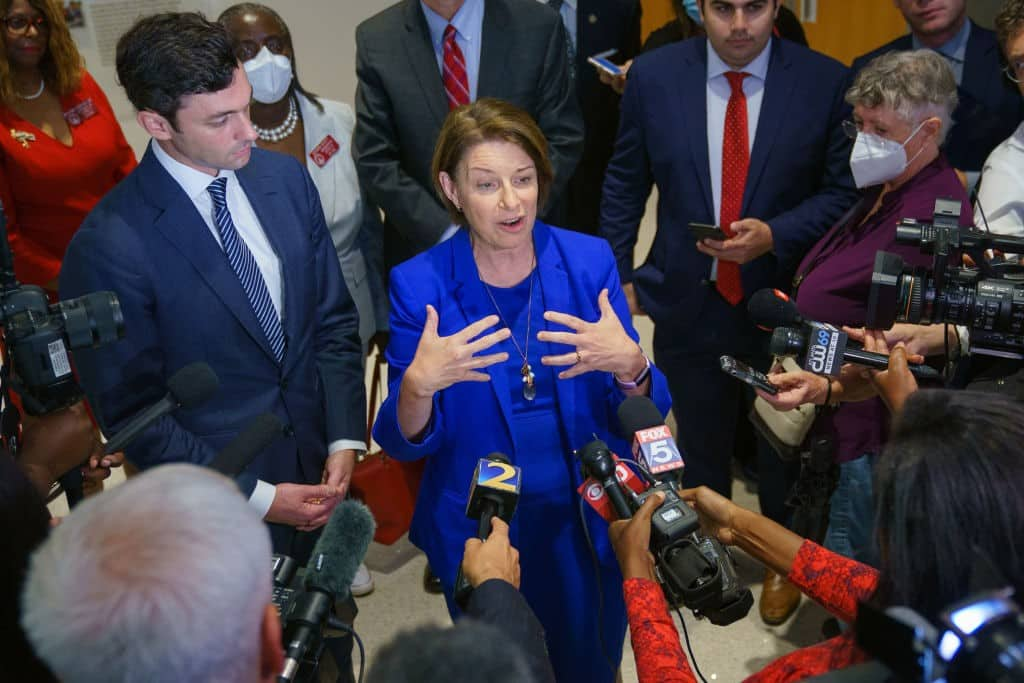 Election Reforms: Senate Democrats Flag Revamped Voting Rights Bill 1