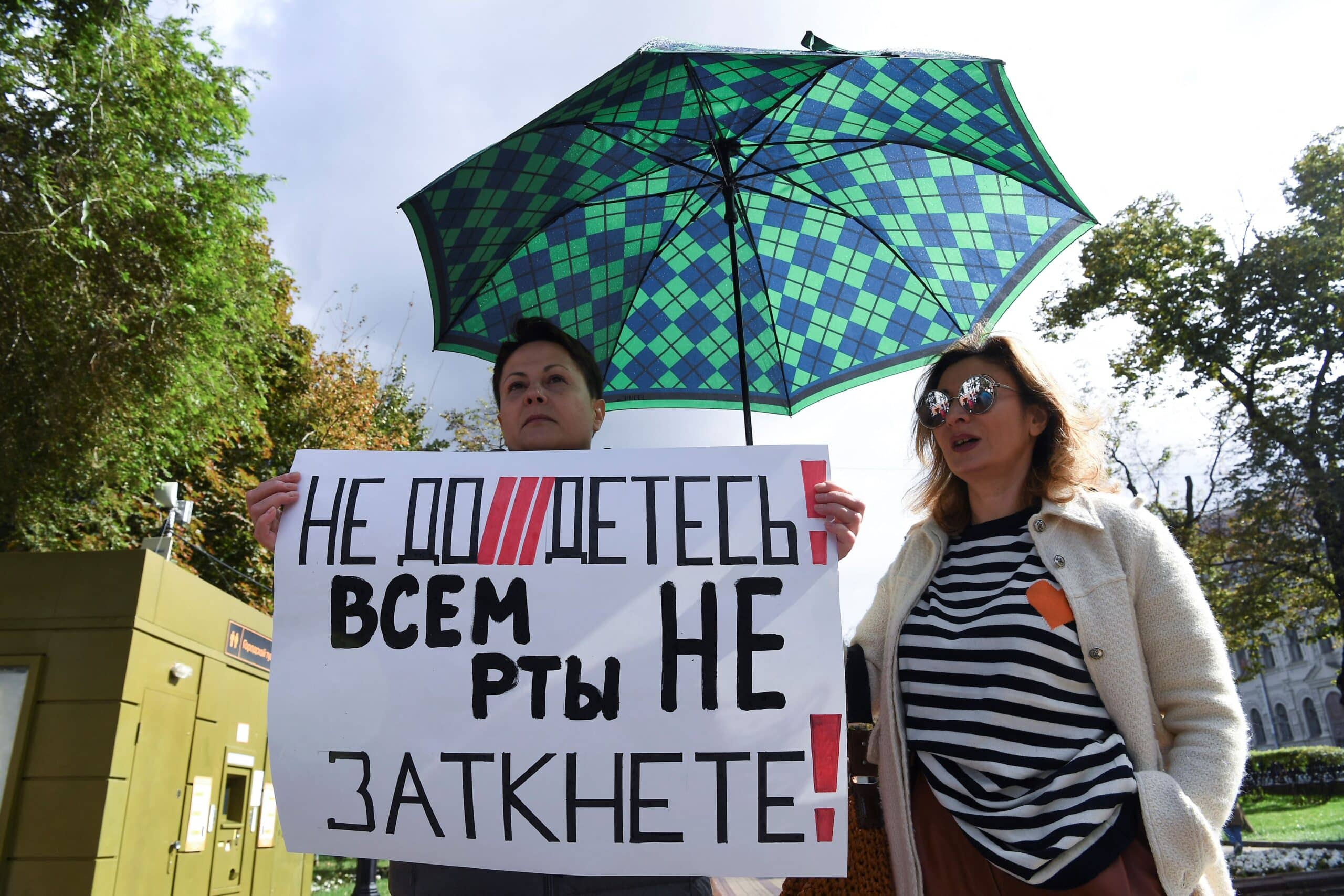 Russia's opposition candidates decry govt censorship 1