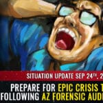 """AZ forensic audit results show SYSTEMIC fraud, faked votes, more than 5X the margin of """"victory"""" from just one county out of the entire state ... prepare for CRISIS THEATER distractions 2"""