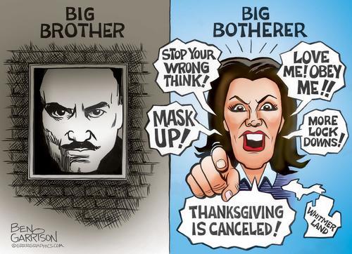 Michigan Gov. Whitmer Bans Masks/Vaxx Mandates As Polls Crash, Re-Election Fight Looks Grim 1